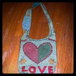 Handbags - Love Cloth Crossbody